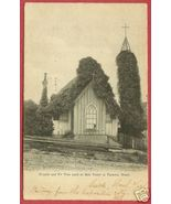 Tacoma Washington Church Bell Tower 1909 Postcard BJs - $6.00