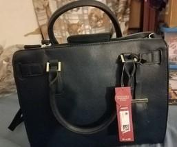 Merona Women's Faux Leather Tote Handbag Purse ... - $26.68
