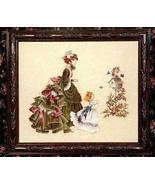 Little Wings cross stitch Lavendar & Lace Marilyn Leavitt-Imblum - $10.80