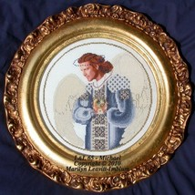Michael cross stitch Lavendar & Lace Marilyn Leavitt-Imblum - $16.20
