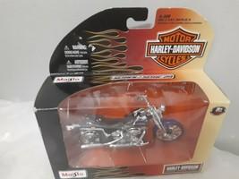 Maisto 2001 FXSTS Springer Softail Harley Davidson 1:18 Die Cast Series 29 - $12.82
