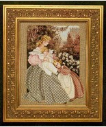 Morning Song cross stitch Lavendar & Lace Marilyn Leavitt-Imblum - $12.60