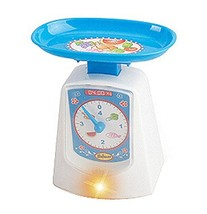 PANDA SUPERSTORE Electronic Scale Toy for Kids Mini Simulation Educational Home