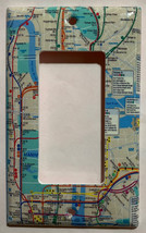 NYC New York City Subway Map Light Switch Outlet Wall Cover Plate Home decor image 4