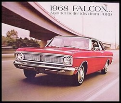 1968 Ford Falcon, Futura Dlx Brochure - $4.65