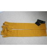 NWT BCBGMaxAzria merino wool elbow winter yello... - $39.99