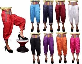 5pcs-100pcs Rayon Nepali Plain Print USA Harem Capri Trousers Wholesale Lot - $35.99+