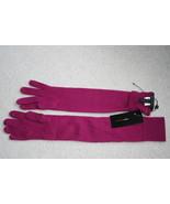 NWT BCBGMaxAzria merino wool elbow purple gloves  - $39.99
