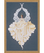 Peace Angel cross stitch Lavendar & Lace Marilyn Leavitt-Imblum - $12.60