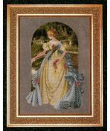 Queen Anne's Lace cross stitch Lavendar & Lace Marilyn Leavitt-Imblum - $12.60
