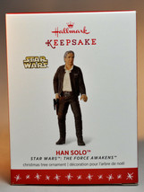Hallmark  Han Solo   Star Wars Force Awakens   Series 20th   2016 Ornament - $11.84