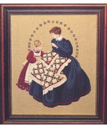 The Quiltmaker cross stitch Lavendar & Lace Marilyn Leavitt-Imblum - $12.60