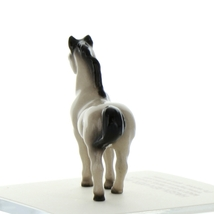 Hagen Renaker Miniature Horse Tiny Gray Stallion Ceramic Figurine image 3