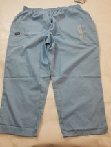 Cherokee Workwear Scrubs Originals Natural Rise Tapered Pull-On Cargo Pant 3XP - $11.76