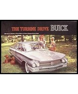 1960 Buick Color Brochure LeSabre Invicta Electra - $8.59