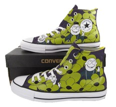 Converse x Dinosaur, Jr Chuck Taylor All Star Pro Sneaker Peace Sign Guy... - $65.00