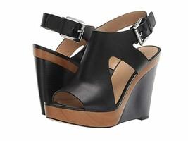 Michael Kors Josephine Wedge Sandals Women's Black(SH19A)Various Size - $79.99