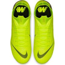 NIKE MERCURIAL SUPERFLY 6 PRO FG VOLT/BLACK SIZE 8.5 BRAND NEW (AH7368-701) image 6