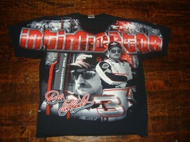 Dale Earnhardt All Over Print Nascar Racing T Shirt XL - $49.49
