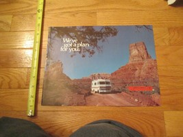 Winnebago Motorhome 1977 Plan for you RV Vintage Dealer sales brochure - $14.99