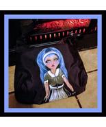BLUE ALICE L.E.D  Bag Hand Painted - $21.00