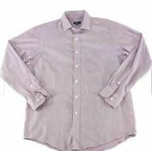 Club Room Men's Dress Shirt Regular Fit Performance Size 18.5X34-35 image 2