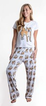 Dog Shiba Inu pajama set with pants for women - $35.00
