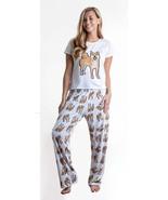 Dog Shiba Inu pajama set with pants for women - $35.00