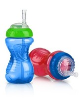 Nuby No-Spill Cup with Flexi Straw - $8.39