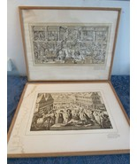 16th 17th Century German Woodcut Prints Posters 22 x 18  - $44.56