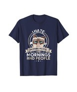 New Shirts - I Don't Like Morning People OR Mornings OR People New TShir... - $417,01 MXN+