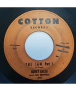Bobby Gregg and His Friends The Jam Part 1 & 2 Cotton Records 45 RPM G /... - $15.75