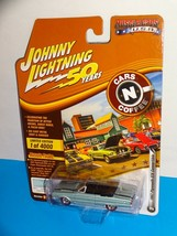 Johnny Lightning Muscle Cars USA Cars N Coffee '67 Plymouth GTX Convertible Blue - $11.00