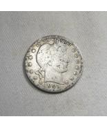 1901-P Silver Barber Quarter CH G Coin AJ-575 - $27.02