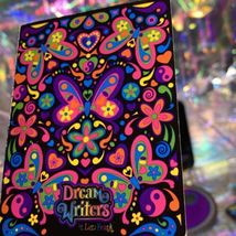 10pc ROULETTE LOT Lisa Frank Dream Writers Stickers Keychain Gel Pens Stationery image 10