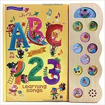 Sound Board Books For Baby First Books Toddlers ABC & 123 Learning Inter... - $25.07