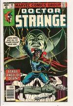 Marvel Comics Group  DOCTOR STRANGE 1960 Comic Apr No.40 - $0.99
