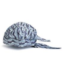 Adjustable Welding Cap Flame Retardant Hat Scarf Helmet Gray Camo Protec... - $8.28