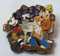 Disney Pin, Artist Choice, Jam Session, Mickey and Goofy, WDW LE 1500 from 2006 - $21.37