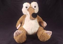 Build A Bear Workshop Scrat Squirrel Ice Age Continental Drift BABW Soft... - $24.23