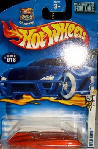 Primary image for 2003 First Editions #6 Wild Thing #2003-18 Collectible Collector Car Mattel