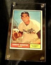 Sandy Koufax Baseball Trading Card # 344 AA19-BTC4005 Vintage Collectible