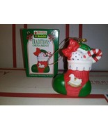 1996 Kwik Fill Traditions Ornament Christmas Morning Stocking Gas Statio... - $5.25