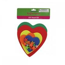 Do-it-yourself Foam Heart Craft Kit CC803 - $37.84
