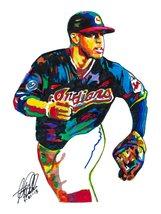 "Francisco Lindor, Cleveland Indians, Shortstop, Baseball, 18""x24"" Art Pr... - $19.99"
