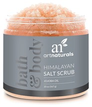 ArtNaturals Himalayan Salt Body Scrub, Deep Cleansing Exfoliator with Sh... - $21.80