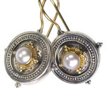 02001026 gerochristo 1026 silver gold byzantine medieval earrings 2 thumb155 crop