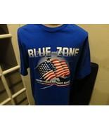 Vtg 90's Air Force Falcons Blue Zone Jansport NCAA Cotton TShirt Adult X... - $30.68