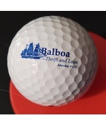 Balboa Thrift & Loan Logo Golf Ball Nike Vintage Advertising Premium Pre... - $12.98 CAD