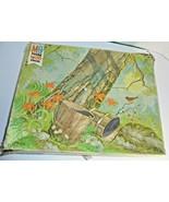 Vintage MB Woodland Series 4980 Puzzle 1500 Pieces pre-wwned defect - $16.78
